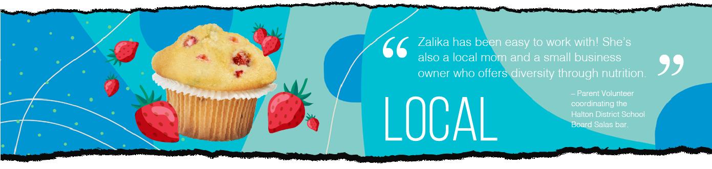 Snax4schools, snacks for schools, Zalika Khurram, Halton, Peel, Ontario, Canada, schools, muffins